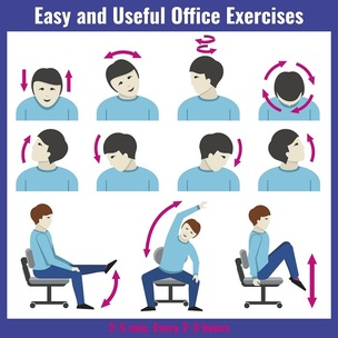 stretches to do whilst sitting