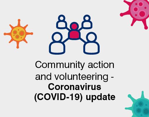 Community and volunteer coronavirus