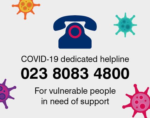 COVID dedicated helpline