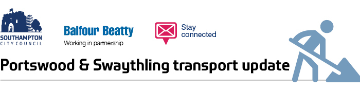 Portswood and Swaythling trasnport update banner