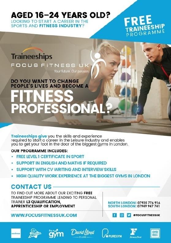 Fitness Trainee