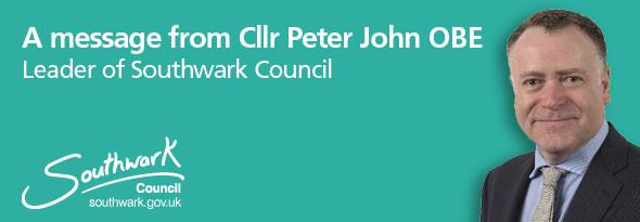 Cllr Peter John OBE