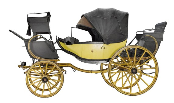 The County Museum Collection Barouche Carriage, 1840s