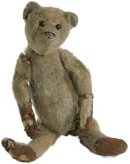 Teddy bear from Staffordshire Museum Collection, about 1914