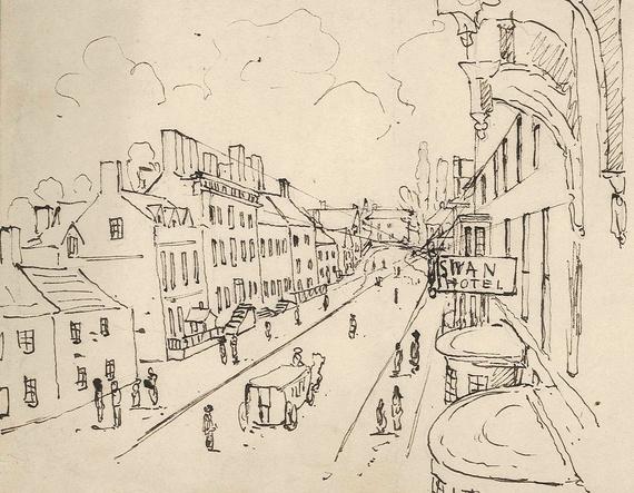 Greengate Street Sketch
