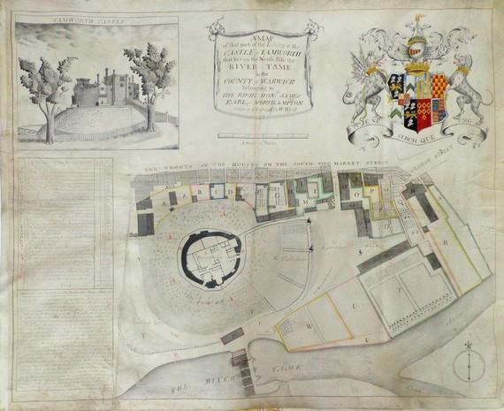 Tamworth Castle 1743