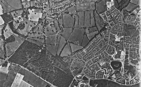 Aerial View of Perton 1981
