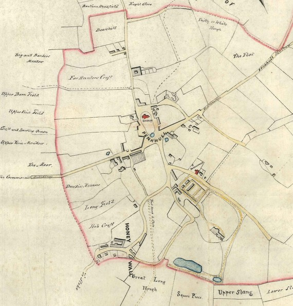 Plan of Penkhull D7748-3-3