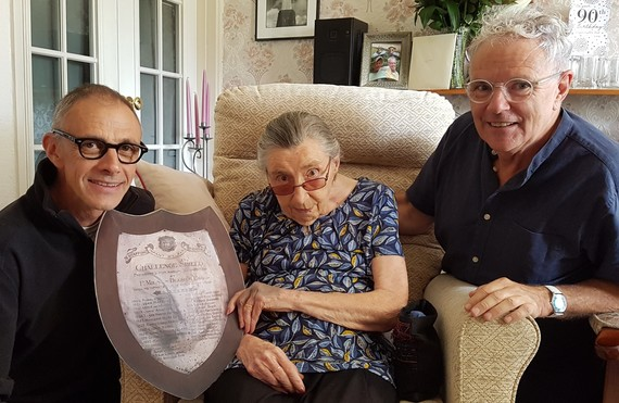 Mavis celebrates her 90th birthday