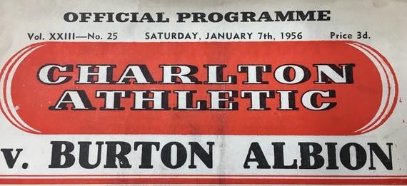 Burton Albion Official Programme 1956