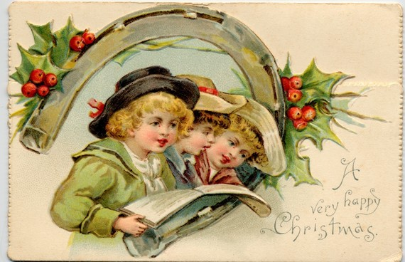 Christmas Card 19th century