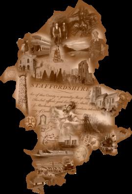 Staffordshire Map