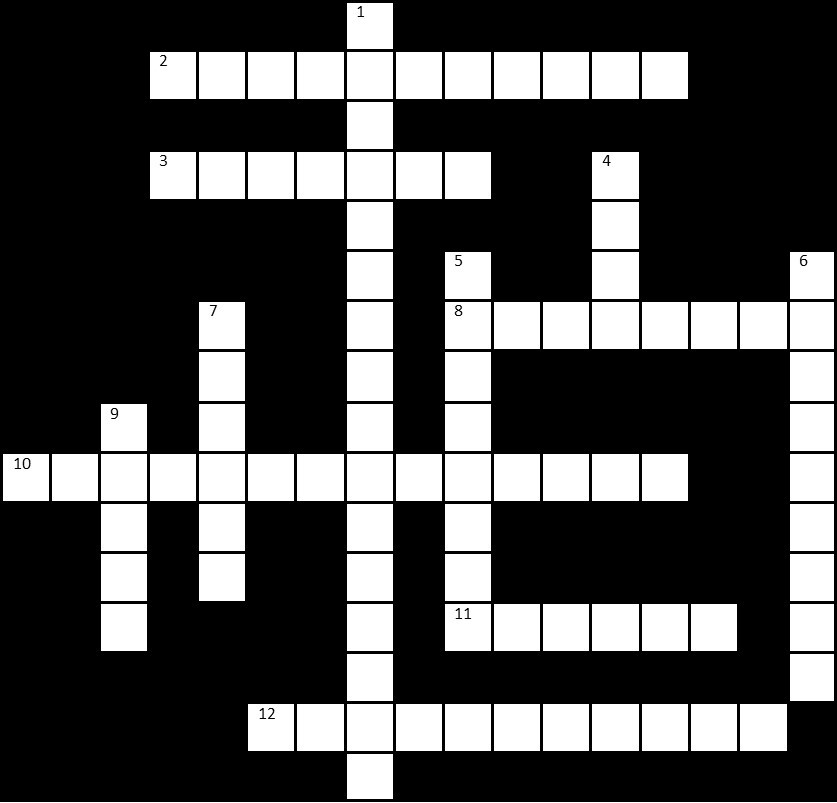 Conservation Crossword