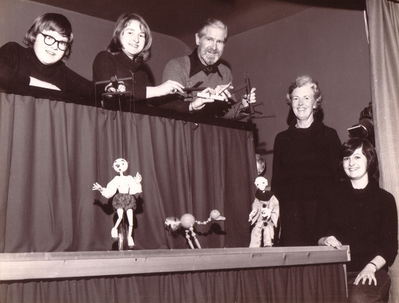 The Hayward Family and Puppets