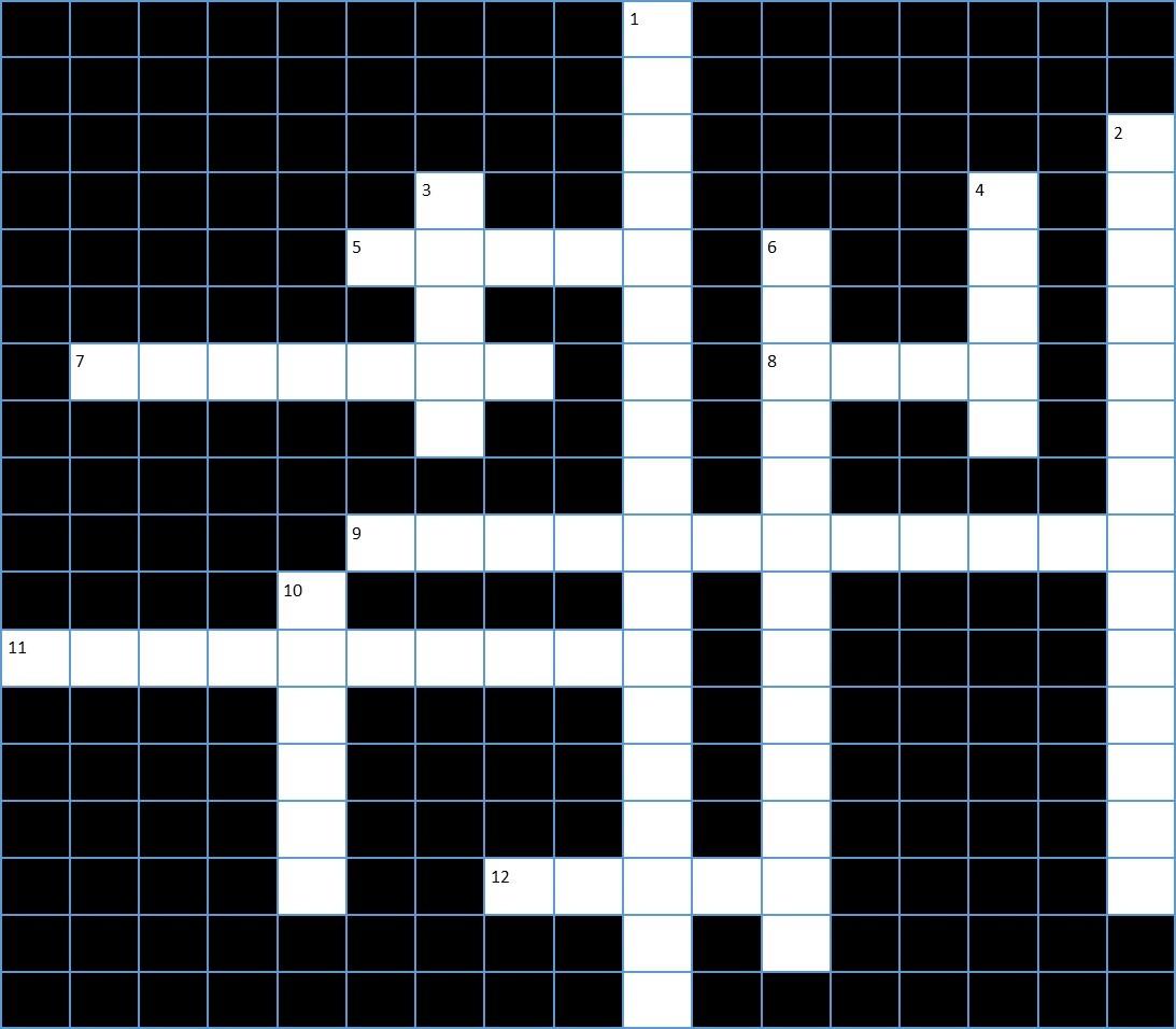 Photography Crossword