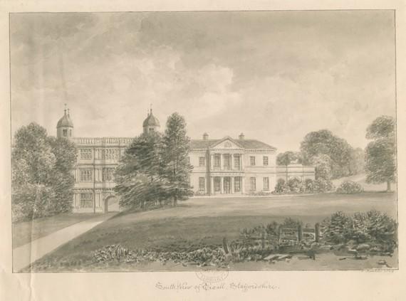 Staffordshire Views - Tixall Hall