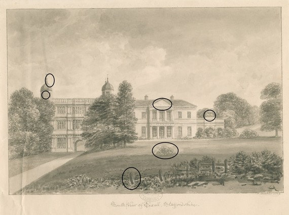 Tixall Hall c. Trustees of the William Salt Library