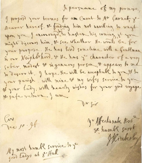 Document from Lichfield Diocese B-A-10-1694c