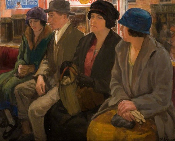 The Omnibus by Mabel Layng, 1920s