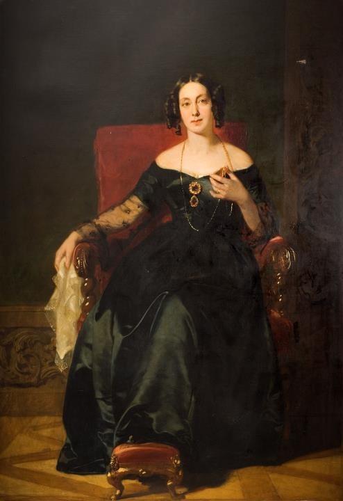 'Clarissa Isabella Knight', John Prescott Knight, about 1843 (G97.009.0001)