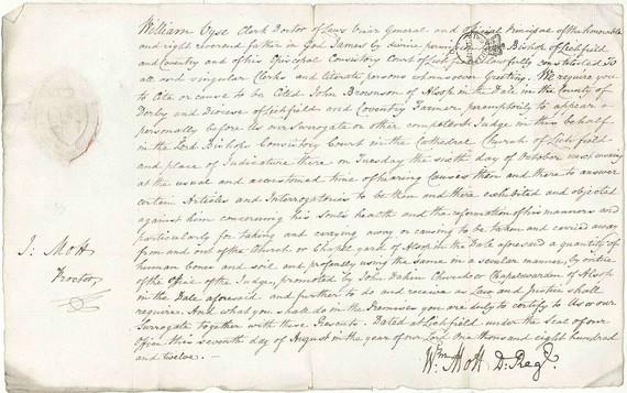 Hand written document looking at Bone Stealing
