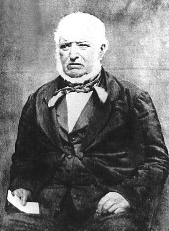 Photographic Portrait of William McMurtrie Head Gardener at Shugborough 1815 - 1837