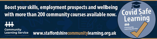 Boost your skills with  Staffordshire Adult Community Learning