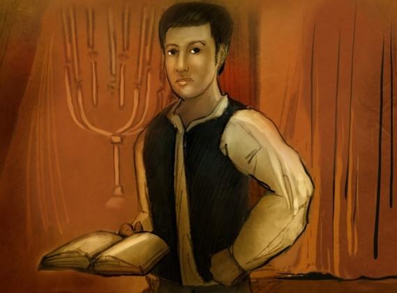 Illustration of Samuel Barber