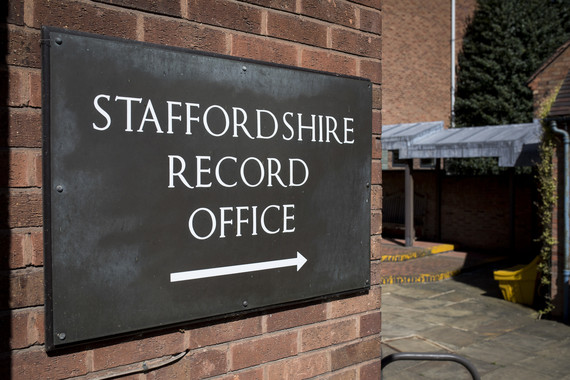 Staffordshire Records Office Sign