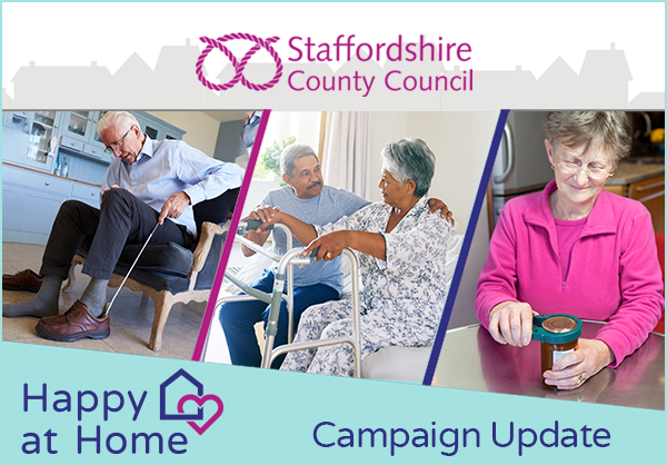 Happy at Home Staffordshire County Council