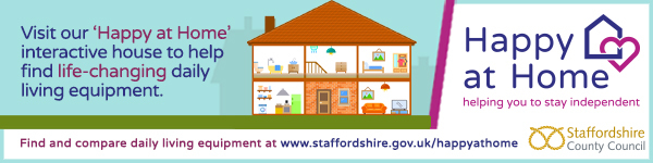 Search for Daily Living Equipment from Staffordshire County Council