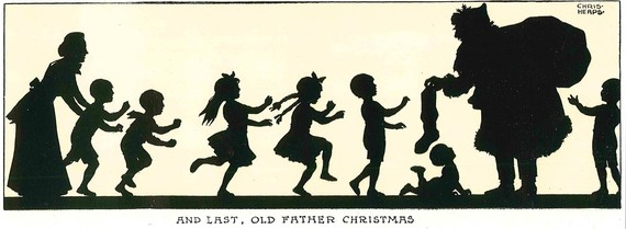 Children with Old Father Christmas