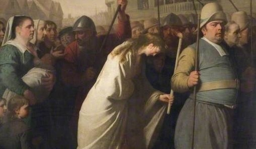 Extract from Jane Shore Led to Penance To Saint Paul's by Edward Penny, 1775-1776, Birmingham Museums Trust