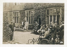 The Earl of Bradford at Castle Bromwich Hall, 1920s
