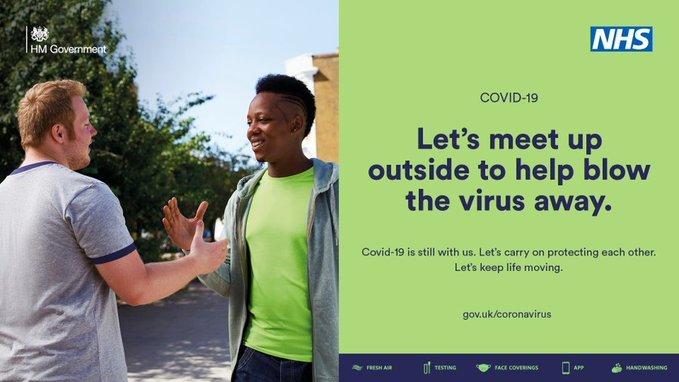 Meet up outside covid