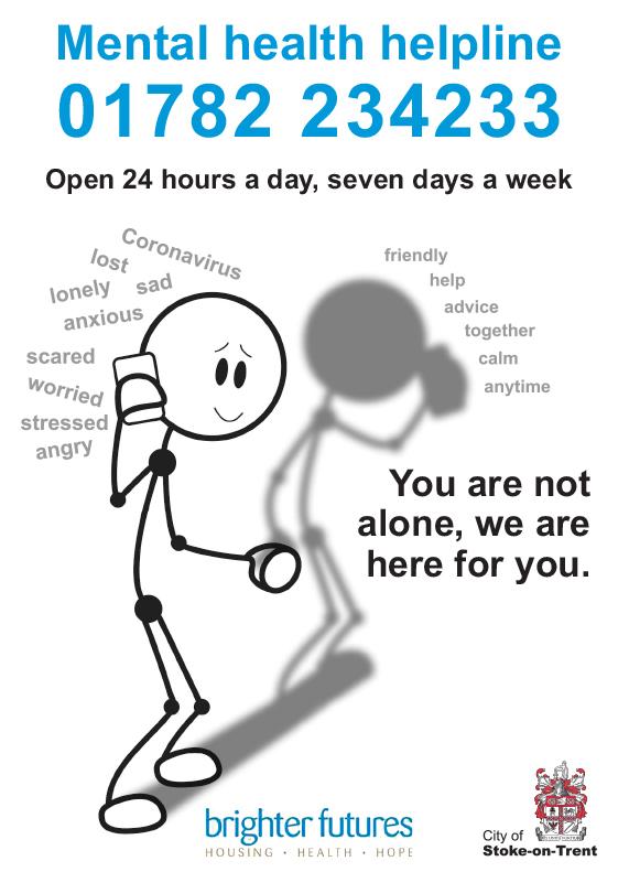 24 hour mental health helpline
