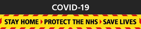 COVID-19: Stay home, protect the NHS, save lives