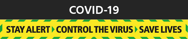 Stay Alert > Control The Virus > Save Lives