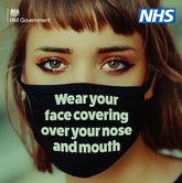 Face Coverings - I wear mine to protect you