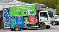 South Hams Small New Recycling Vehicle