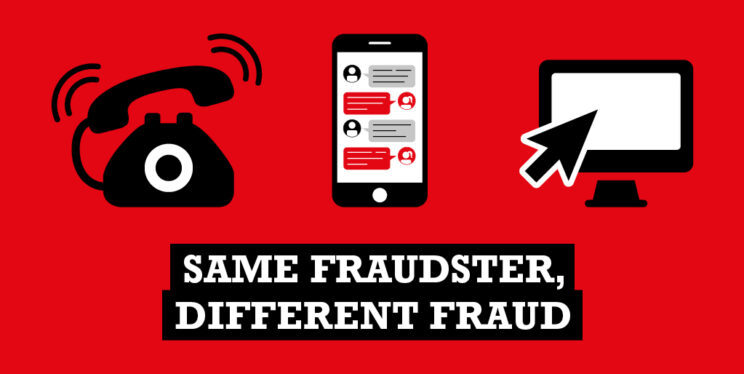 Same fraudster different fraud