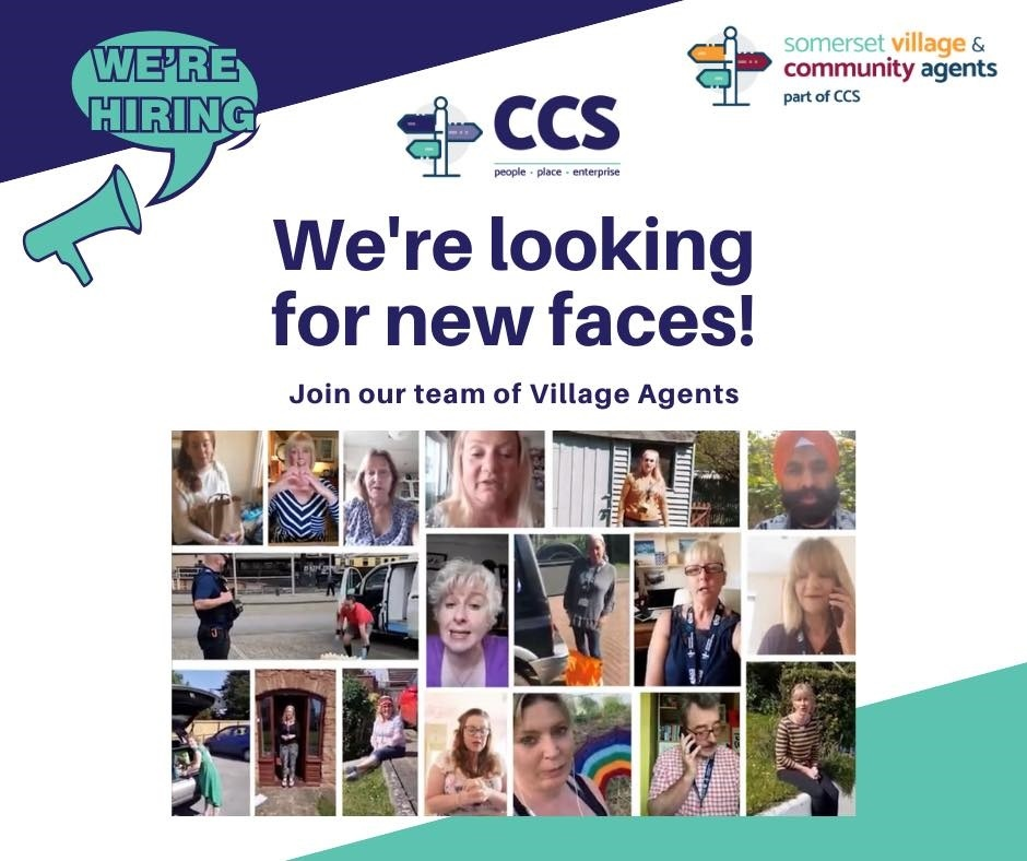 We're looking for new faces