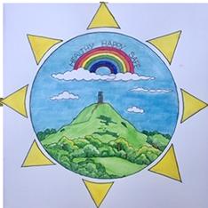 Healthy happy safe logo