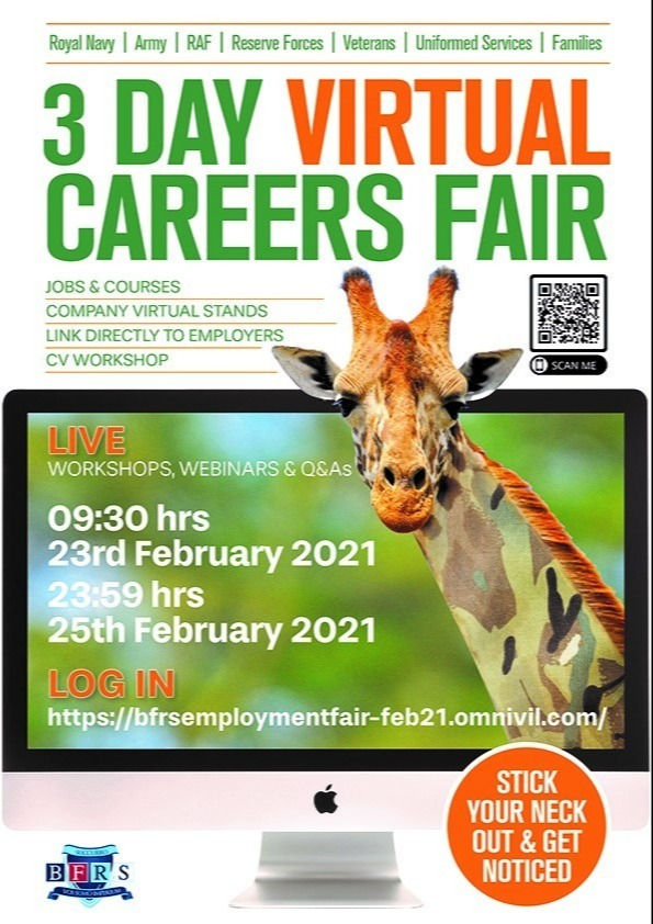 3 Day Virtual careers Fair Step Up Somerset