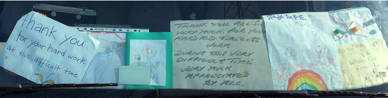 Refuge collectors thanks
