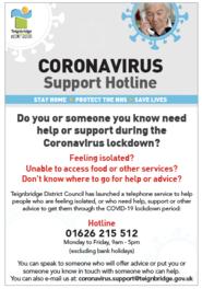 Hotline leaflet