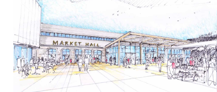 Market Hall artist