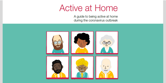 Active at home booklet
