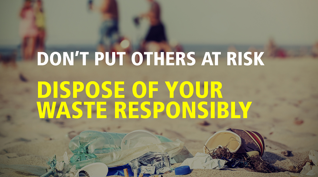 dispose of your rubbish
