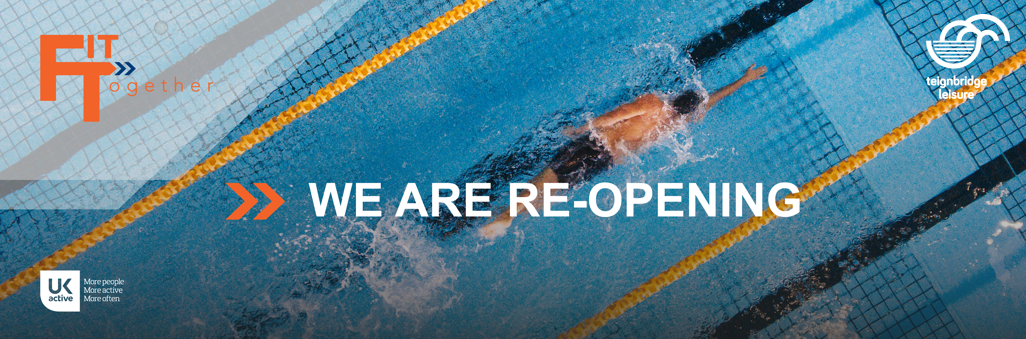Our leisure centres are reopening
